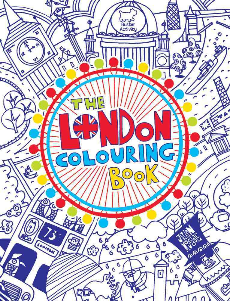 The London Colouring Book By Buster Books (COR)